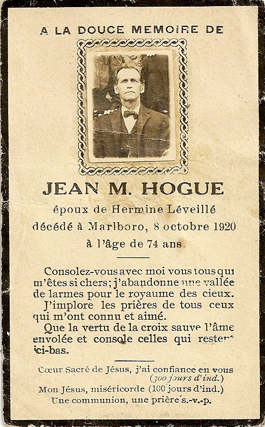 carte mortuaire Jean-Marie-Hogue fils