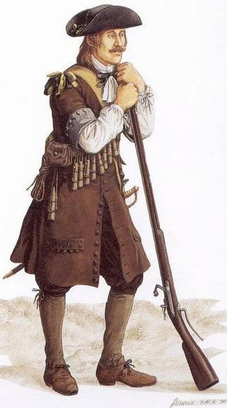 Soldier of the Régiment Carignan-Salières Illustrator Francis Back