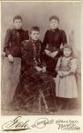 Alice, Lillie, Nellie, Flora Archambeault (daughters of John Archambeault and Florence Boucher)