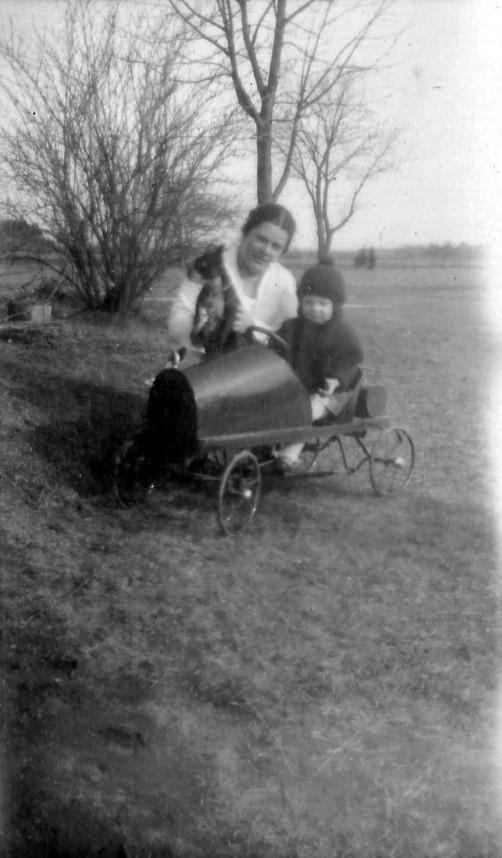 Ida Lagasse and boy