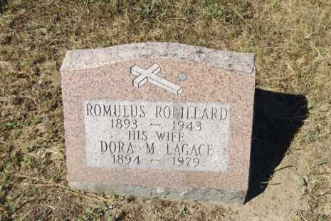 headstone Romulus Robillard